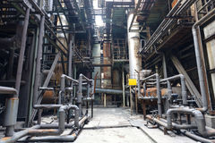 Steel mill Royalty Free Stock Photo