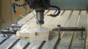 Steel Milling Machine working stock video footage