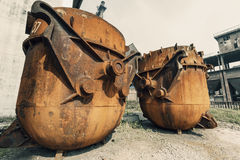 Steel mills Steel furnace Royalty Free Stock Photography