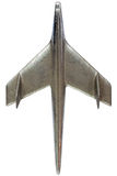 Steel model of an airplane Stock Photography