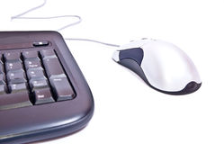 Steel mouse Stock Images