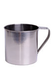 Steel mug Royalty Free Stock Photo