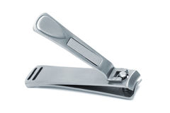 Steel nail clippers Stock Images