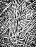 Steel nails Royalty Free Stock Image
