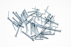 Steel nails Royalty Free Stock Photography