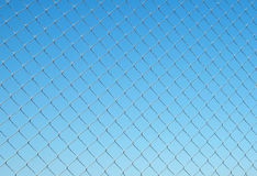 Steel net Royalty Free Stock Photography