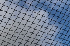 Steel net Royalty Free Stock Photo
