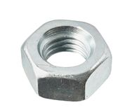 Steel nut Royalty Free Stock Photo