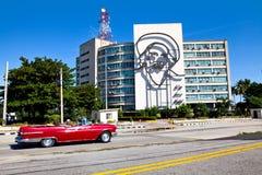 Steel outline of Cuban revolutionary figure Camilo Cienfuegos Stock Image
