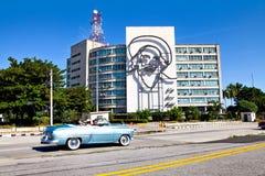 Steel outline of Cuban revolutionary figure Camilo Cienfuegos Stock Photography
