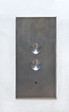 Steel pad with buttons Stock Photos