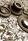 Steel parts Royalty Free Stock Image