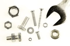 Steel parts Stock Images