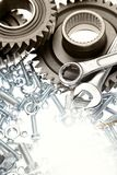 Steel parts Royalty Free Stock Photography