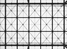 Steel pattern Building structure Architecture details royalty free stock images