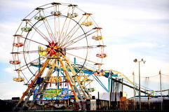 Steel Pier Amusement in Atlantic City, New Jersey Royalty Free Stock Photos