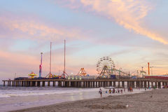 The Steel Pier at Atlantic City. In New Jersey Royalty Free Stock Photography