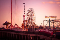 Steel Pier Atlantic City NJ Stock Image