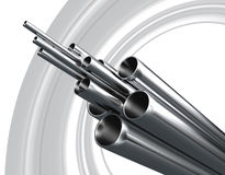 Steel Pipe Stock Images