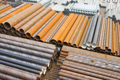 Steel pipe Royalty Free Stock Photo