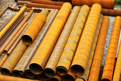 Steel pipe 3 Royalty Free Stock Photo