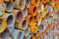 Steel pipe stock photos