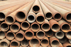 Steel pipe Royalty Free Stock Images