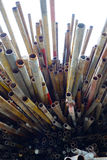 Steel pipe Royalty Free Stock Image