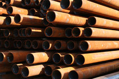 Steel pipes Stock Photos