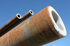 Free Steel Pipes Royalty Free Stock Image - 244436