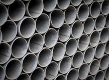 Steel pipes. Royalty Free Stock Photography