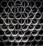 Steel pipes. Royalty Free Stock Photos
