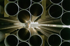 Steel Pipes Industrial Royalty Free Stock Photo