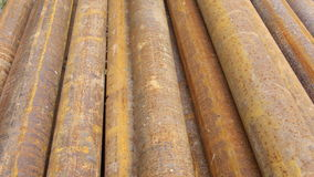 Steel Pipes Industrial Royalty Free Stock Photography