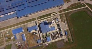 Steel plant stock footage