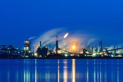 Steel Plant, Hamilton, Ontario, Canada Stock Photos
