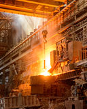 Steel plant Royalty Free Stock Images