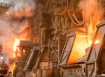 Steel plant Stock Photography