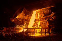Steel plant Stock Image