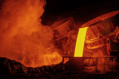 Steel plant Royalty Free Stock Photography