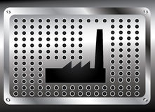 Steel plate Stock Photo
