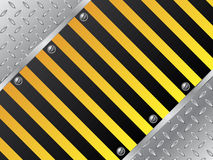 Steel plate background Royalty Free Stock Image