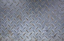Steel plate background texture. Rusty and dirty used steel plate - useful for background element Royalty Free Stock Photo
