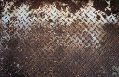Steel plate Ground texture Royalty Free Stock Photography
