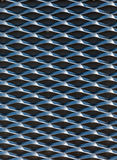 Steel plate pattern. On side of building Royalty Free Stock Photos