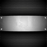 Steel plate for your design Stock Images