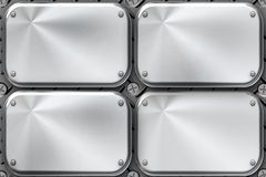 Steel plates Stock Photography