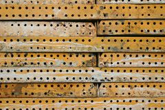 Steel Plates Background Royalty Free Stock Image