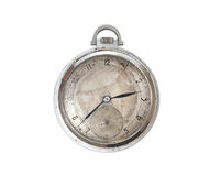 Steel pocket watch Royalty Free Stock Photos