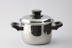 Steel Pot Royalty Free Stock Image